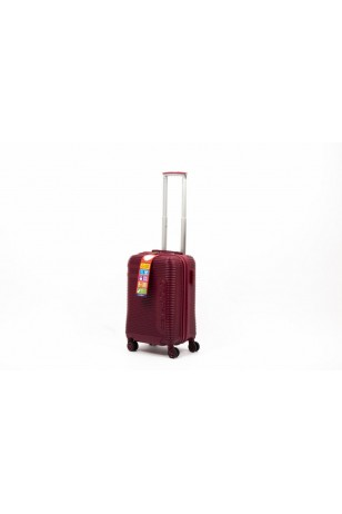 TravelPOLO A1011 Kabin Boy Valiz Bordo